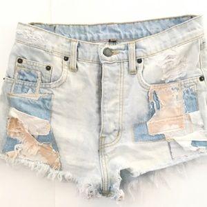 LF Patchwork Carmar Shorts
